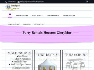 Party Rentals Houston Glorymar Salones In Houston Tx