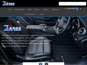 Texas Auto Trim >> Texas Auto Trim Custom Upholstery Auto Service Houston